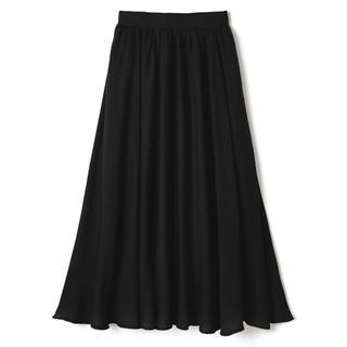 GRL - ギャザーロングフレアスカート グレイル 膝丈 韓国ファッション ザラ