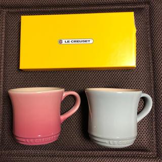 ルクルーゼ(LE CREUSET)のルクルーゼ ペアマグカップ(食器)