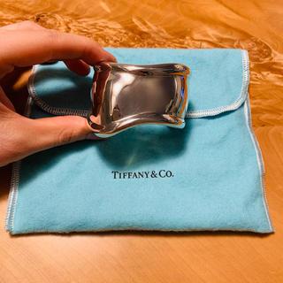 ティファニー(Tiffany & Co.)のティファニー ボーンカフ スターリングシルバー S(ブレスレット/バングル)