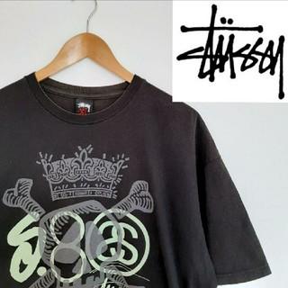 ステューシー(STUSSY)の90s ★STUSSY ★人気ロゴ ★XLサイズ ★スケーター ★ストリート(Tシャツ/カットソー(半袖/袖なし))