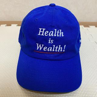 ビューティアンドユースユナイテッドアローズ(BEAUTY&YOUTH UNITED ARROWS)のSPORTY&RICH  CAP(BLUE)(キャップ)