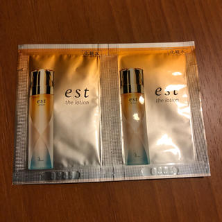 エスト(est)のエストザローション サンプル 2袋(化粧水/ローション)