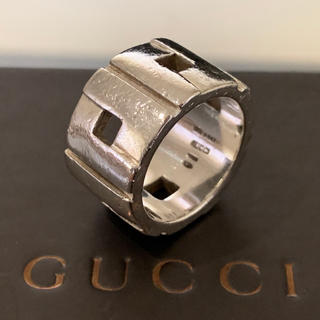 Gucci - グッチ Modernist シルバー925 指輪 リング 13号 ヴィンテージ