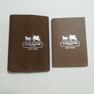 コーチ(COACH)のコーチ ブックカバー&ノート(雑誌の付録) 母子手帳ケースとして(ブックカバー)