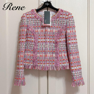 René - 新品タグ付【Rene】マリアケントツイードジャケット
