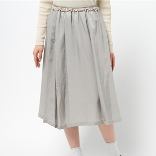 ビュルデサボン(bulle de savon)のC/Cu/L つぶレース スカート(ロングスカート)