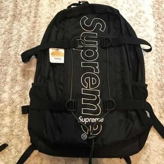 Supreme - supreme backpack 18fw シュプリーム バックパック 黒