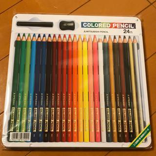 ミツビシ(三菱)の三菱 色鉛筆 24色セット(色鉛筆)
