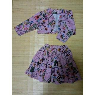 チチカカ(titicaca)の女の子120サイズ上下セットA ※最終値下げ(スカート)