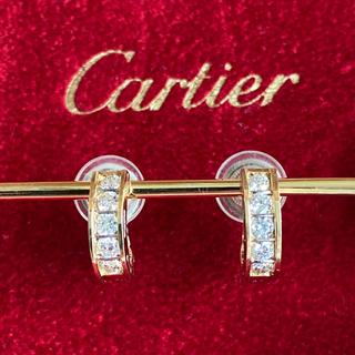 Cartier - カルティエ750天然ダイヤモンド イヤリング
