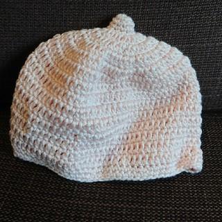 キッズズー(kid's zoo)のKID'S zoo ピンク帽子(帽子)