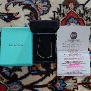 Tiffany & Co. - ティファニーWGスマイルネックレス