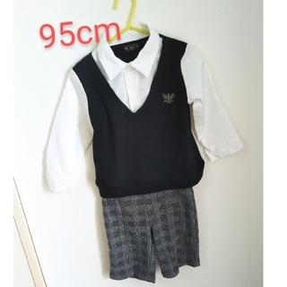 ニシマツヤ(西松屋)のフォーマル 上下セット 95cm 男の子用(ドレス/フォーマル)