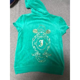 ジューシークチュール(Juicy Couture)のジューシークチュール 半袖パーカー パイル地 XL ジャージ(ルームウェア)