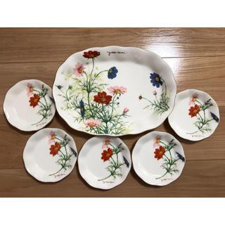 ユキコハナイ(Yukiko Hanai)の新品未使用 YUKIKO HANAI大皿と小皿のセット(食器)