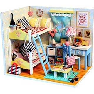 (ホンガクラフト) 子供の頃の思い出 DIYミニチュアドールハウス(模型/プラモデル)