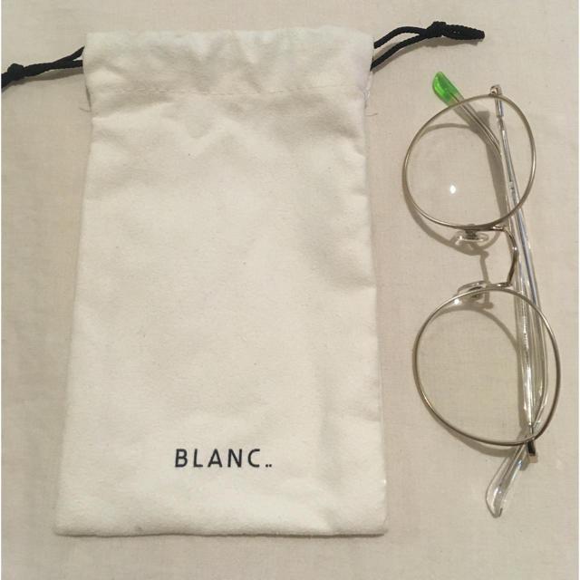 Ayame(アヤメ)の SOLDOUT ❌  BLANC..  メガネ レディースのファッション小物(サングラス/メガネ)の商品写真