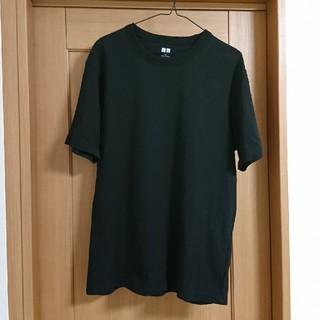UNIQLO - ユニクロ 2020年モデル クルーネックTシャツ Lサイズ ブラック 黒