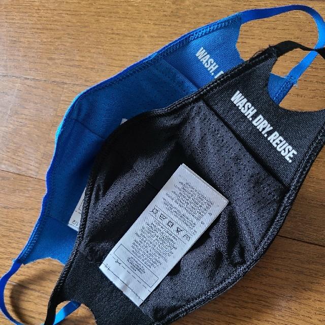 adidas(アディダス)のadidas アディダス フェイスカバー XS/S ブラック、ブルー2枚セット スポーツ/アウトドアのスポーツ/アウトドア その他(その他)の商品写真