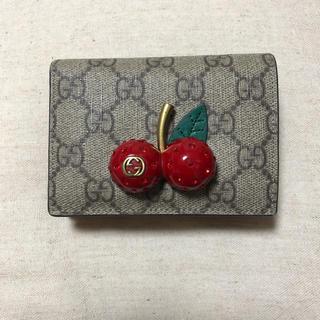 Gucci - GUCCI さくらんぼ 財布