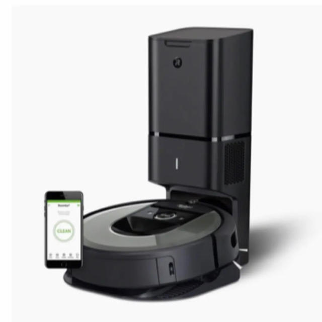 iRobot(アイロボット)の【国内正規品】 ロボット掃除機 「ルンバ」 i7+ ダークグレー 新品・未使用 スマホ/家電/カメラの生活家電(掃除機)の商品写真