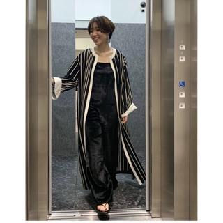 L'Appartement DEUXIEME CLASSE - L'Appartement Lyria Stripe Gawn
