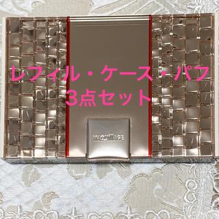マキアージュ(MAQuillAGE)のマキアージュ ドラマティックパウダリーUV(ケース、パフ付き) オークル00(ファンデーション)