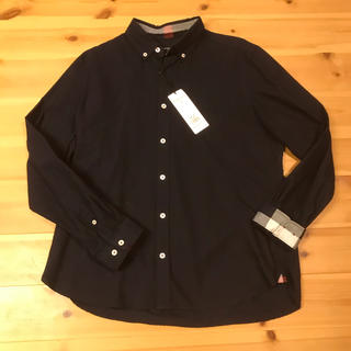 BLACK LABEL CRESTBRIDGE - 新品 ブラックレーベル クレストブリッジ ネイビー シャツ
