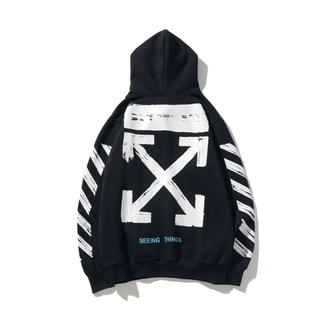 OFF-WHITE - OFF-WHITE パーカー 男女兼用 OF006-1