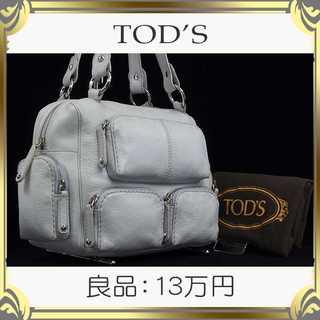 TOD'S - 【真贋査定済・送料無料】トッズのハンドバッグ・良品・本物・本革・女性向け