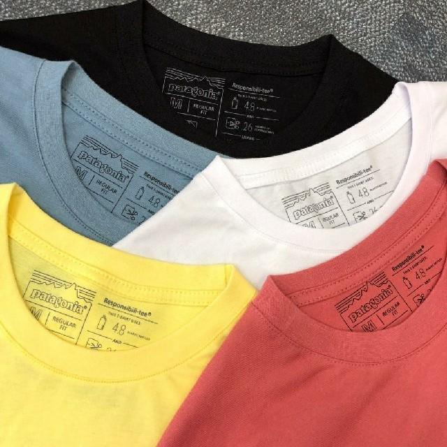 patagonia(パタゴニア)の海外正規品 即日発送 patagonia 半袖Tシャツ ブラック XLサイズ メンズのトップス(Tシャツ/カットソー(半袖/袖なし))の商品写真