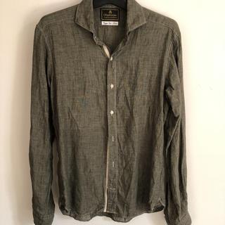 エディフィス(EDIFICE)のシャツ リネン 38  エディフィス(シャツ)