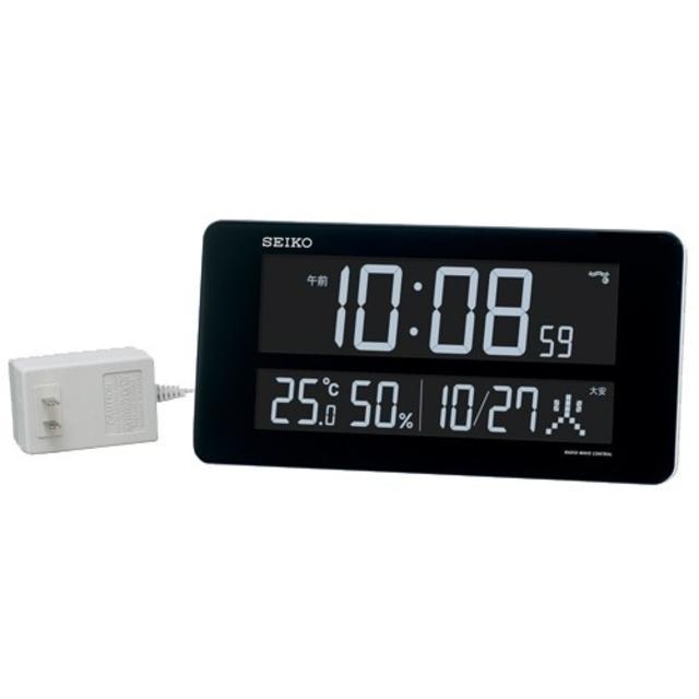 SEIKO(セイコー)のSEIKO デジタル時計 DL208W インテリア/住まい/日用品のインテリア小物(置時計)の商品写真