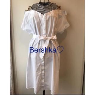 Bershka - ベルシュカ シャツワンピース M