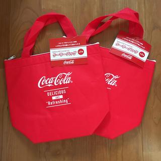 コカコーラ(コカ・コーラ)のコカコーラ クーラーバッグ 2個(ノベルティグッズ)