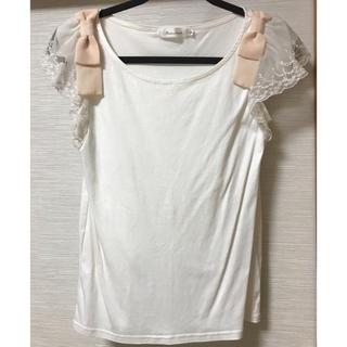 クチュールブローチ(Couture Brooch)のcouture brooch Tシャツ リボン(Tシャツ(半袖/袖なし))