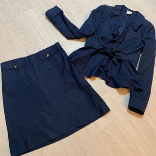 レッドヴァレンティノ(RED VALENTINO)のRED VALENTINO スーツ セットアップ 綿 麻(スーツ)