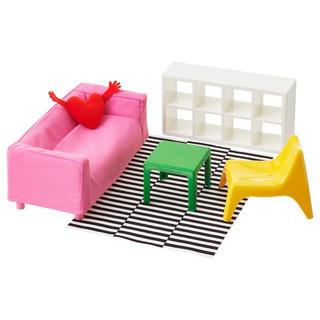イケア(IKEA)のリカちゃんサイズ家具(ぬいぐるみ/人形)