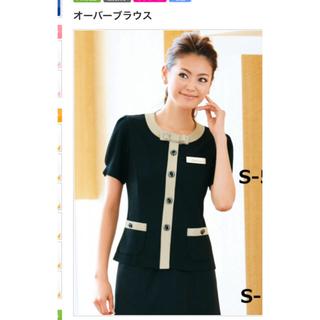 Joie (ファッション) - 事務服 セロリー  オーバーブラウス  11号