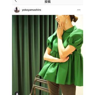 FOXEY - KEINA RITA⭐︎新品幻のタックギャザードブラウス⭐︎完売⭐︎山城葉子さん