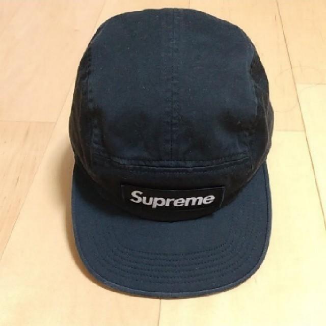 Supreme(シュプリーム)のシュプリーム Washed chino 黒 キャップ メンズの帽子(キャップ)の商品写真