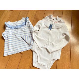ジャカディ(Jacadi)の新品未使用品 jacadi  ジャカディ シャツ2枚 (Tシャツ/カットソー)