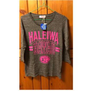 ハレイワ(HALEIWA)の値下げ  HALEIWA   七分袖Tシャツ   タグあり(Tシャツ/カットソー(七分/長袖))