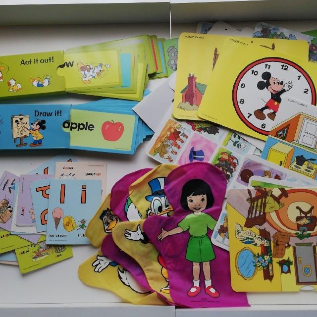 Disney(ディズニー)のDWEカード174枚 キッズ/ベビー/マタニティのおもちゃ(知育玩具)の商品写真