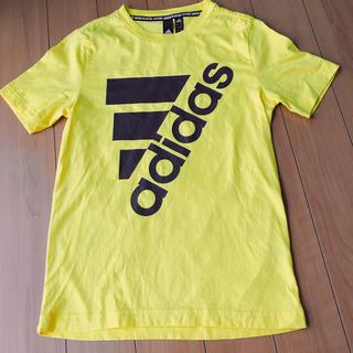 adidas - 試着のみ★adidas イエローのアディダス Tシャツ 150