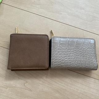しまむら - プチプラのあや しまむら 折財布 二個セット