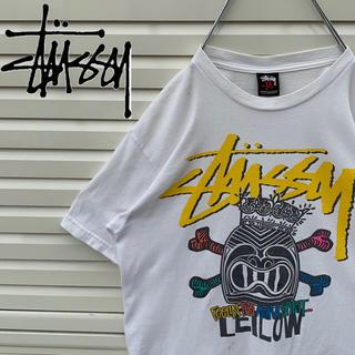 ステューシー(STUSSY)のステューシー Tシャツ レアデザイン 90s 旧タグ ゆるダボ かわいい 人気(Tシャツ/カットソー(半袖/袖なし))