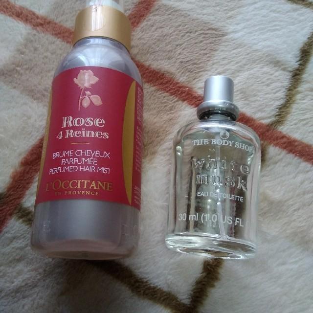 L'OCCITANE(ロクシタン)のロクシタンヘアミスト新品とムスクの香水セット コスメ/美容のヘアケア/スタイリング(ヘアウォーター/ヘアミスト)の商品写真