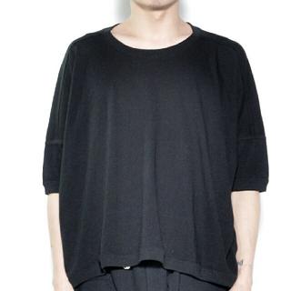 ドゥルカマラ(Dulcamara)のo project wide fit tee 黒(Tシャツ/カットソー(半袖/袖なし))