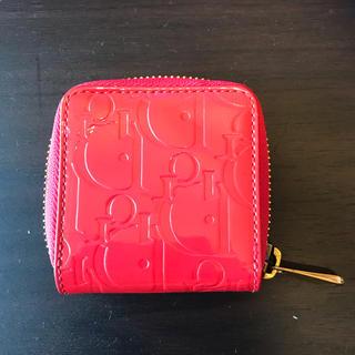 クリスチャンディオール(Christian Dior)のクリスチャンディオールコインケース エナメル パテント財布 小銭入れ (コインケース)